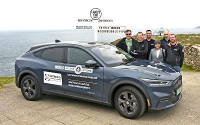 Intrepid Control Systems UK Support in Electric Vehicle Triple World Record Achievement